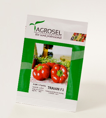 Tomato shape pepper TRAIAN F1