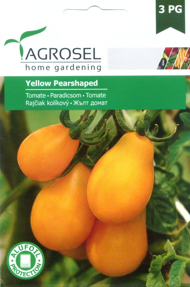 Seminţe tomate Yellow Pearshaped